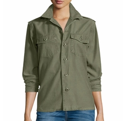 Equipment - Major Cotton Shirt Jacket