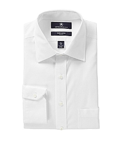 Hart Schaffner Marx - Regular-Fit Spread-Collar Dress Shirt