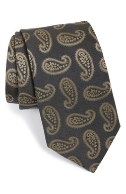 Michael Kors - Paisley Cotton & Silk Tie