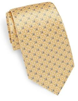 Burma Bibas  - Circle Medallion Silk Tie