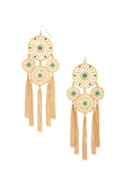 Forever21 - Dreamcatcher Duster Earrings