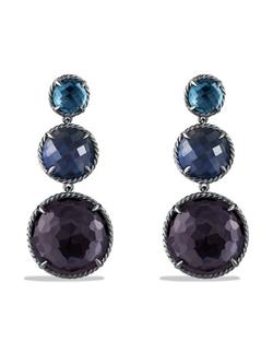 David Yurman - Chatelaine Triple-Drop Earrings