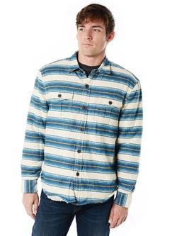 True Grit - Baja Stripe Shirt Jacket