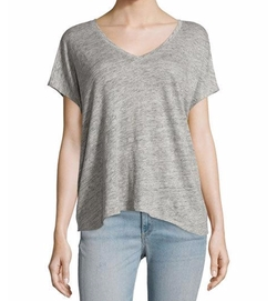 Rag & Bone/Jean  - Malibu Linen V-Neck T-Shirt