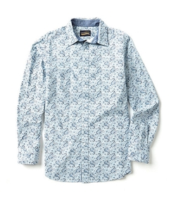 Cremieux Jeans  - Long-Sleeve Paisley Woven Shirt