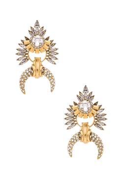 Elizabeth Cole  - Crystal Earrings