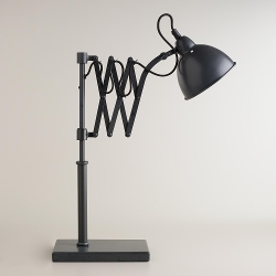 World Market - Accordion Task Table Lamp