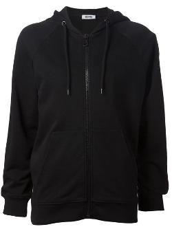Moschino Cheap & Chic - Zip Front Hoodie