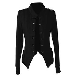 Sungpunet  - Stand Collar Epaulet Jacket