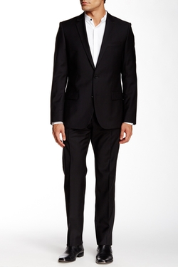 Hugo Boss - Two Button Notch Lapel Wool Suit