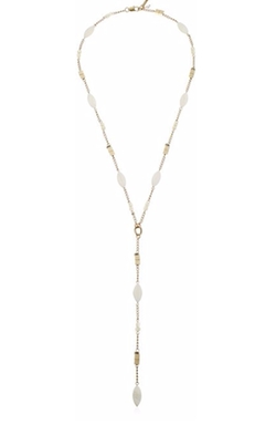 "Kenneth Cole New York  - ""Palm Desert"" Long Y-Shaped Necklace"
