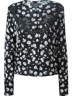Dolce & Gabbana - Floral Print Cardigan