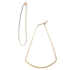Nashelle - Ija Triangle Hoop Earrings