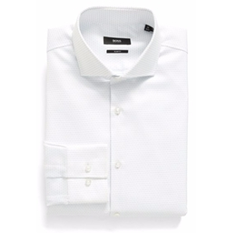 Boss - Slim Fit Stripe Dress Shirt