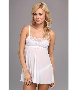 Hanky Panky - Sterling Lace Babydoll w/ G-String