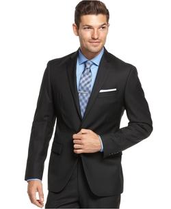 Ryan Seacrest Distinction - Solid Slim-Fit Jacket