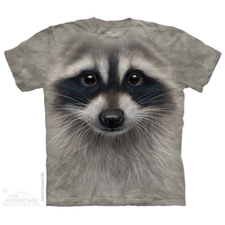 The Mountain - Raccoon Face T-Shirt