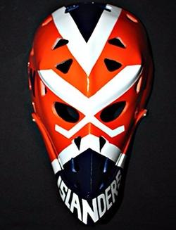 Tripple_777 - Vintage Fiberglass Roller NHL Goalie Mask