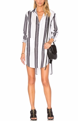 Assembly Label - Fabric Shirt Dress