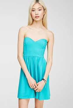Forever 21 - Strapless Sweetheart Dress