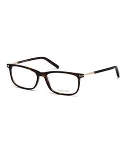 Tom Ford  - Acetate Rectangular Optical Glasses