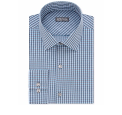 Kenneth Cole Reaction  - Pool Checked Dress Shirt
