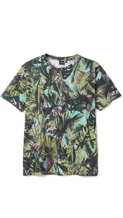 PS By Paul Smith - Palm Leaves Print T-Shirt