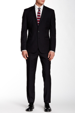 Ben Sherman  - Camden Notch Lapel Wool Suit