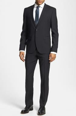 Hugo Boss - Adris/Heibo Extra Trim Fit Stripe Suit