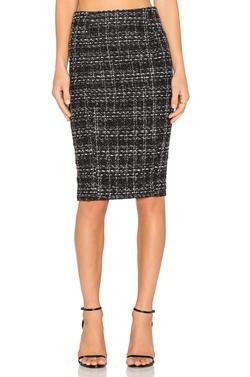 Blaque Label - Tweed Pencil Skirt