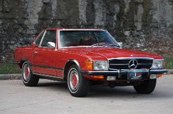 Mercedes-Benz  - 1972 350SL Car