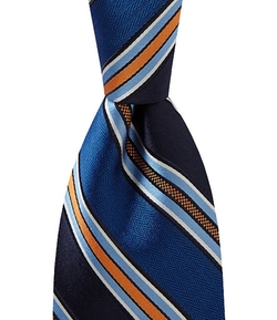 Daniel Cremieux  - Signature Striped Silk Tie