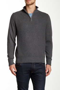 Tailor Byrd - Trianion Zip Pullover Sweater