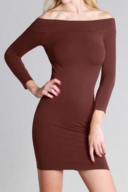 Niki Biki - Off Shoulder Dress