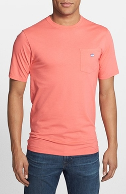 Southern Tide - Embroidered Pocket T-Shirt