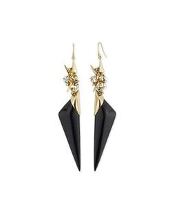 Alexis Bittar - Enamel Spike Drop Earrings