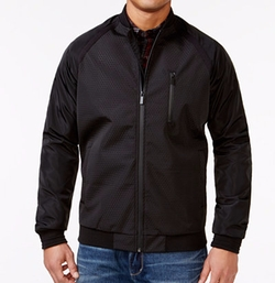 Sean John - Textured Bomber Jacket