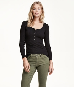H&M - Henley Shirt