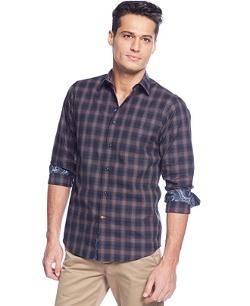 Tallia - Plaid Shirt