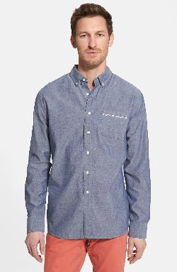 Grayers  - Trim Fit Selvedge Chambray Sport Shirt