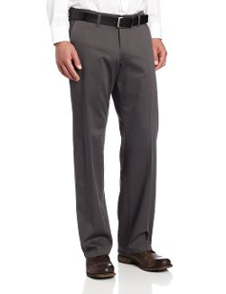 Lee - Comfort Waist Custom Fit Flat Front Pant