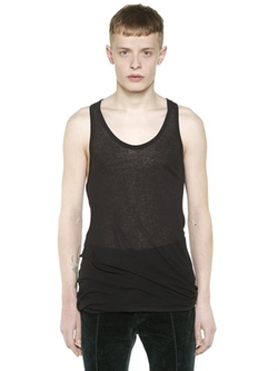 Haider Ackermann - Mini Rib Knit Tank Top