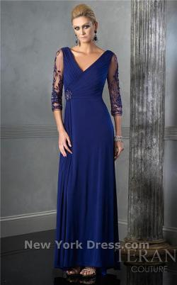 Tera - Full-Length Dress With Sleeves