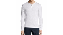 Theory  - Gaskell Long-Sleeve Henley Shirt