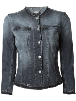 7 For All Mankind - Embellished Denim Jacket