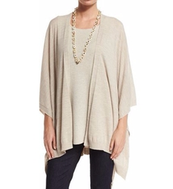 Eileen Fisher - Fisher Project Artisan Merino Poncho Cardigan
