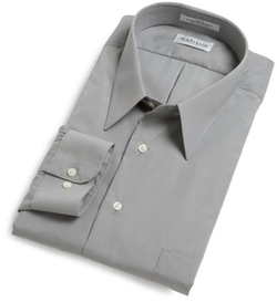 Van Heusen - Wrinkle Free Poplin Long Sleeve Shirt