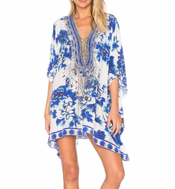 Camilla - Short Lace Up Caftan
