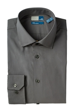 14th & Union - Trim Fit Solid Dress Shirt