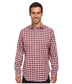 Thomas Dean & Co. - Long Sleeve Check Shirt